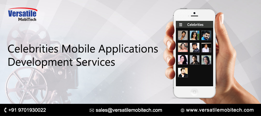 Versatilemobitech celebrities mobile applications development services 3